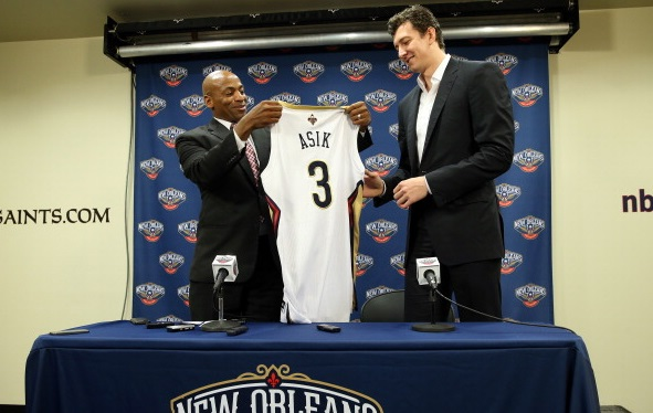 New Orleans Pelicans Aquire Omer Asik